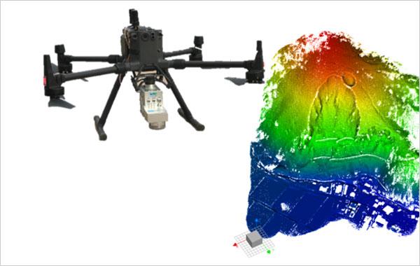 UAVレーザー測量