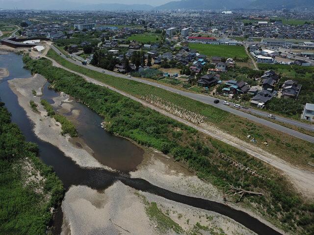 千曲川村山橋 低水護岸設計