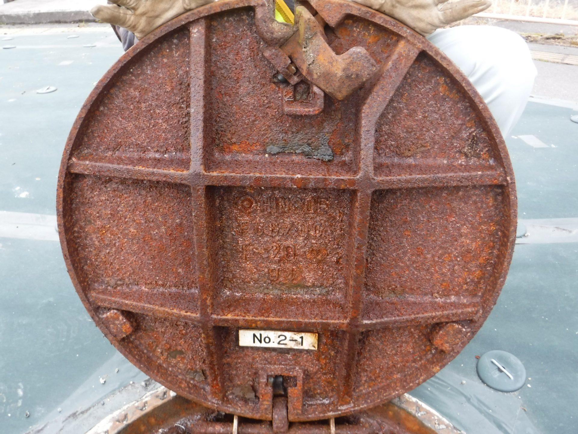 千曲川流域下水道 下水道マンホールの耐震補強設計