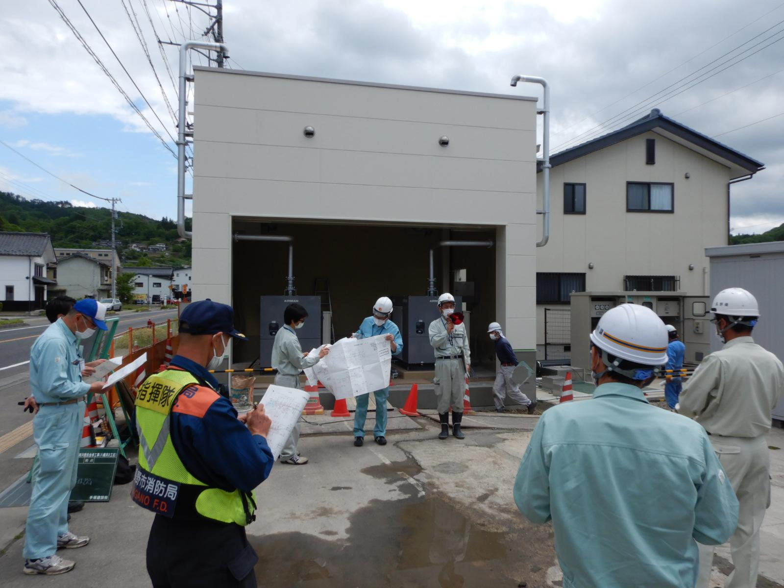長野市信州新町 八幡沢排水機場詳細設計