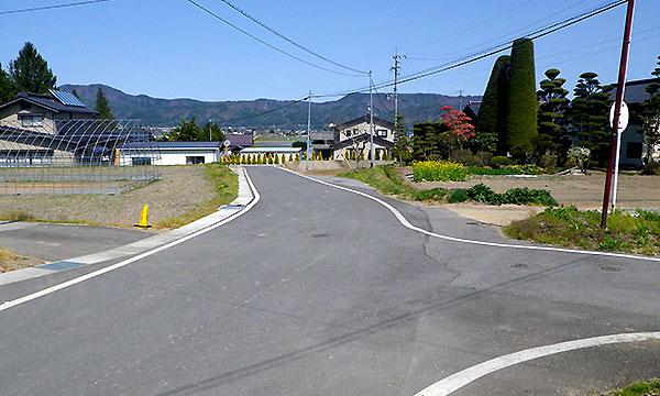 大町市 常盤道路改良設計