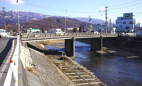 松本市 柳橋橋梁設計