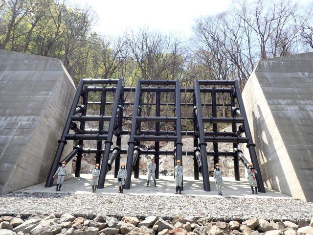 北湯原沢砂防堰堤設計